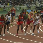 athletes competing in athletics